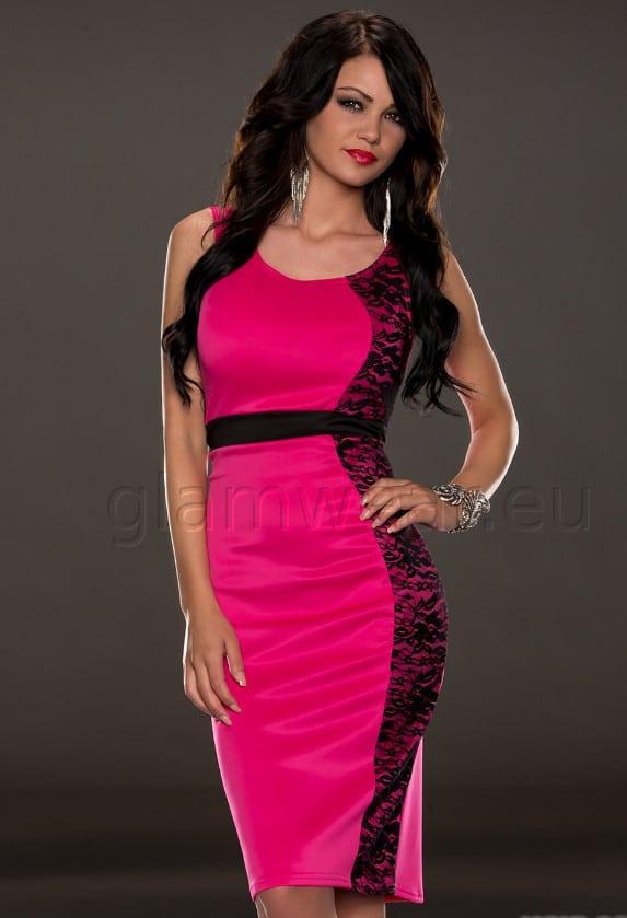 9e490f50846 Soliidne pitsist detailiga kleit - Naisteriided | e-pood - GLAMWEAR.EU